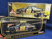 Racing Champs Mark Martin #60 NASCAR Winn Dixie 1:24 Stock Car 1996 & 1995 2Lot