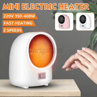 350W Mini Small Space Heater Electric Heating Fan Office Home Silent Hot Fa