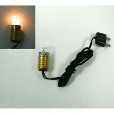Lampada Singola Bianco Caldo 3,5 Volt Attacco E10 - Luce illuminazione Presepe