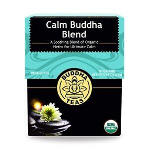 Buddha Organic Calm Buddha Blend Herbal Tea