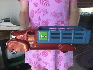 Vintage Marx Pressed Steel Toy Truck 1940's (Nice!)