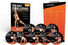 Workout Dvd Bodyweight Fitness 90-Day Challenge Exercise Program 24-workouts set