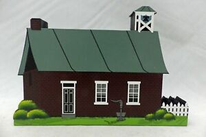 Shelia's Collectibles - Amish Schoolhouse - Amish Village Series - #AMS10 - New