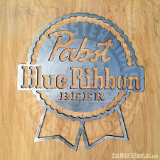 Pabst Blue Ribbon Metal Wall Art
