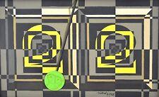 Vintage Mid-Century Tucker Bobst Painting Geometric Abstract Gibbon Monkey Head