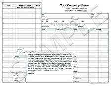 100 Customized Auto Body Repair Invoice