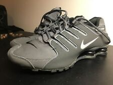Nike Shox NZ Men 378341-059 Dark Grey Black, Size 8