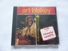 ART BLAKEY + THE JAZZ MESSENGERS ~ LIVE AT RONNIE SCOTT'S LONDON ~ 1985 UK CD