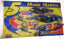 New listing Mark Martin #5 Flag 3' x 5' 2 Sided Hendrick Motorsports Nascar Nr!