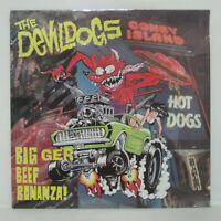 The Devil Dogs ‎– Big Beef Bonanza! LP 1990 GERMANY ORIG SEALED MINT CRYPT PUNK