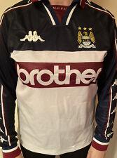 Kappa Manchester City Away Shirt 97-98 Small Men Rare Retro Original Brother