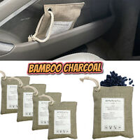 Natural Air Purifying Bamboo Charcoal Bag Home Car Purifier Dehumidifier Odour