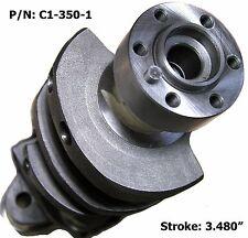 "SGI Cast Nodular Crankshaft SBC 350 3.480"" Stroke Later 1-PC rear Seal & Kits"