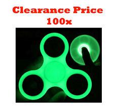 Joblot Wholesale Glow In The Dark Fidget Spinner Hand Focus Stress Spinner 100x