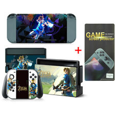 Zelda Vinyl Aufkleber Schutzfolie Skin fur Nintendo Switch w/ displayschutzfolie