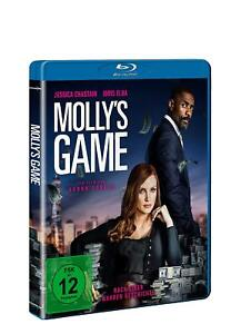 Molly's Game [Blu-ray/NEU/OVP] Jessica Chastain, Idris Elba, Kevin Costner, Mich