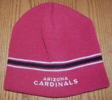 Arizona Cardinals Football Embroidered Beanie Hat Cap NFL TEAM APPAREL