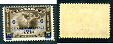 MNH Canada Airmail Stamp with Overprint Shifted Down #C4var (Lot #7948)