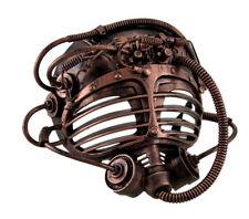 Copper Steampunk Submarine Half Mask Adult Mens Womens Masquerade Scuba Diver