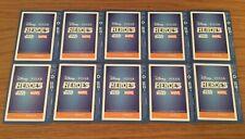 Sainsbury's Disney Heroes Cards - 10 unopened packs