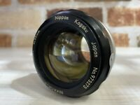 [Exc+5] Nikon Nikkor-S Auto non-Ai 55mm f/1.2 Standard MF Lens From Japan #468