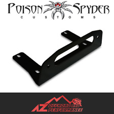 Poison Spyder Winch Fairlead Mount Black Universal & Jeep 45-57-010
