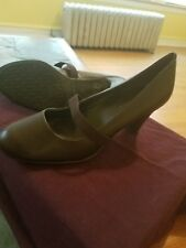 Women's, Predictions, Chocolate Brown, Mary Jane Heels, Size 6.5