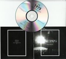 THE 1975 Music For Cars 2013 UK 5-track promo test CD