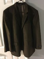 NWT Jos A. Bank Executive Collection Gordon Jacket Dark Olive 48 Reg $450