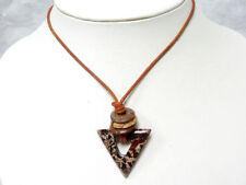 Natürliche Unisex Modeschmuck-Halsketten & -Anhänger aus Edelsteinen