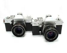 Small Job Lot Of Praktica 35mm SLR Cameras - Spares or Repairs