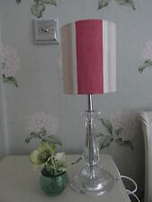 Handmade Drum Lampshade - Laura Ashley Awning Stripe - all colours - 15cm