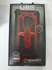 Urban Armor Gear UAG Monarch Series Case For Samsung Galaxy S9 Only Crimson Red