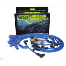 Taylor Spark Plug Wire Set 80655; SST 8mm Blue 135 HEI for 302//351W SBF 460 BBF