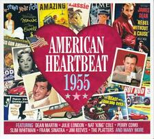 AMERICAN HEARTBEAT 1955 - VARIOUS ARTISTS  (NEW SEALED 2CD)