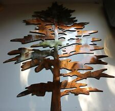 Majestic FAT Pine  Tree Metal Wall Art Decor
