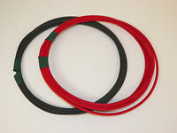 RED AND BLACK  AUTOMOTIVE  POWER WIRE 12 GAUGE HIGH TEMP GXL 10 FEET EACH = 20
