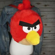 """Angry Birds Red Plush 14"""" 3D Backpack"""