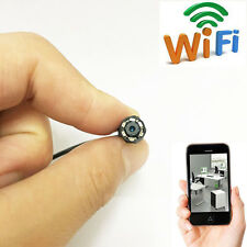 spy wireless WIFI tiny CAM network IP HD mini DIY hidden camera DVR recorder