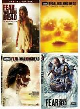 Fear The Walking Dead Season 1-4 DVD Box Set Complete TV Series Collection New