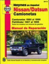 Nissan/Datsun Camionetas 1980 al 1996, Pathfinder 1987 al 1995 (Haynes en Espano