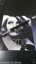 MONT BLANC SPECIAL EDITION GRETA GARBO DIAMOND FOUNTAIN PEN 36025