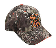Built Ford Tough True Timber Camo Camouflage and Blaze Orange Adjustable Hat Cap