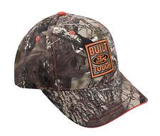 Built Ford Tough True Timber Camo Camouflage and Blaze Orange Adjustable Hat Cap