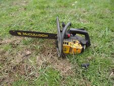 McCulloch Wildcat Chainsaw