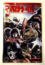 KISS 4K Issue 1 Red Foil Variant Autograph Simmons