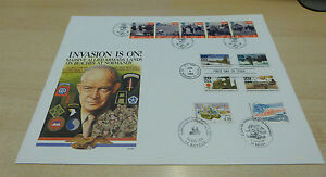 US Navy Normandy WWII 1994 FDC France Great Britain invasion is on