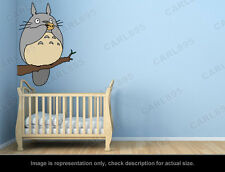 Ghibli Totoro - Totoro Tree Flute Wall Art Applique Sticker