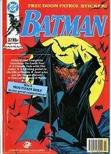 BATMAN MONTHLY  - UK DC COMIC   - 1991 - NUMBER 37