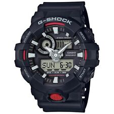 Casio G-Shock Mens Wrist Watch GA700-1A GA-700-!A Black/Red Super Illuminator